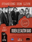Standing Sun LIVE presents The Ruben Lee Dalton Band - 4/2/2016