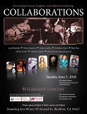 Collaborations 8th Benefit Concert - 6/5/2016