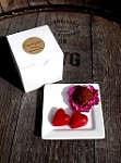 Chocolate Passion Fruit Heart and Champagne Truffle Box