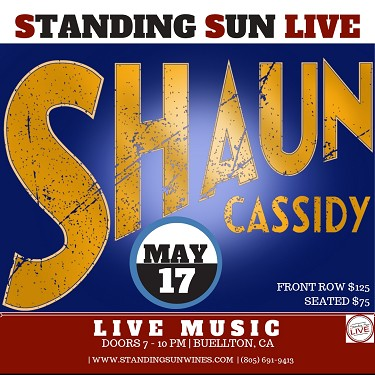 5/17/19- Shaun Cassidy - SOLD OUT
